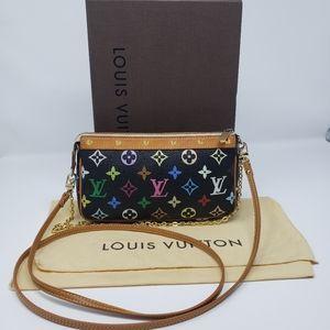Authentic Louis Vuitton Pochette Accessoires Multi